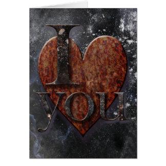 Tarjeta del día de San Valentín de Steampunk te