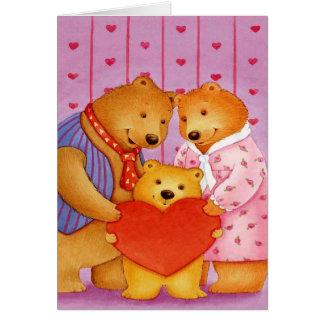 Tarjeta del día de San Valentín del nieto -
