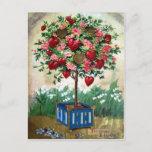Tarjeta del día de San Valentín del Victorian