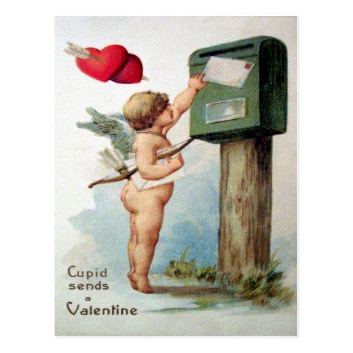 Tarjeta del día de San Valentín del Victorian Tarjeta Postal