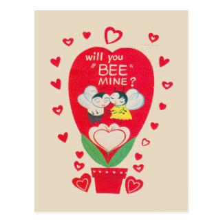 Tarjeta del día de San Valentín del vintage Postal