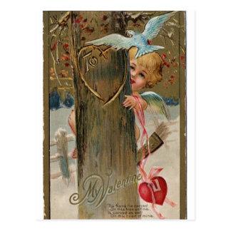 Tarjeta del día de San Valentín del vintage que Postal