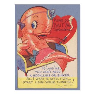 tarjeta del día de San Valentín divertida de los Postal