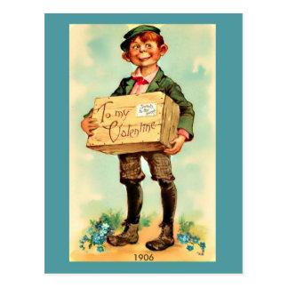 Tarjeta del día de San Valentín hermosa de la Postal