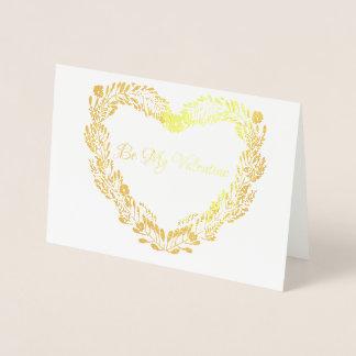 Tarjeta del día de San Valentín real del amor de