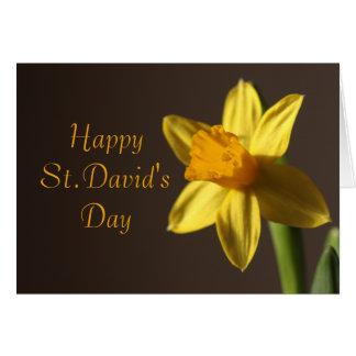 Tarjeta del día de St David