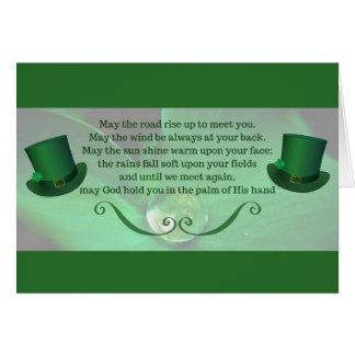 Tarjeta del día de St Patrick