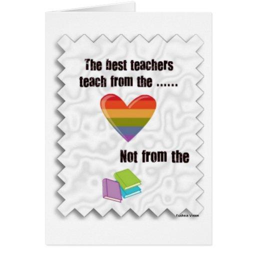 Tarjeta del día del profesor