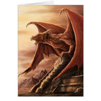 Tarjeta del dragón del Armageddon