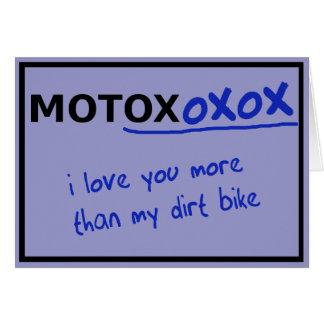 Tarjeta del el día de San Valentín de la bici de