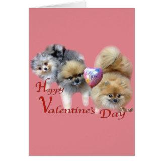 Tarjeta del el día de San Valentín de mis Pals de