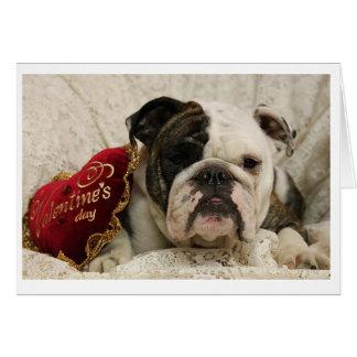 tarjeta del el día de San Valentín del Adora-toro