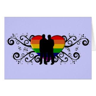 Tarjetas de valentines gay e