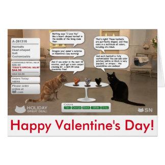 Tarjeta del el día de San Valentín para los