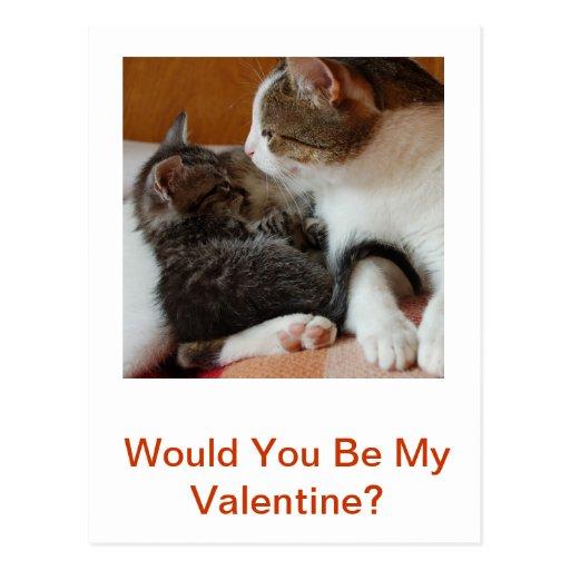 Tarjeta del el día de San Valentín Postal
