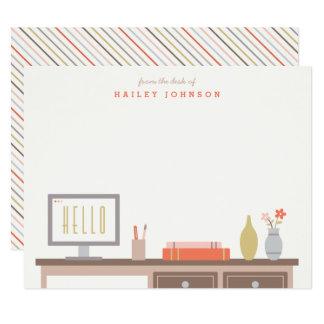 Tarjeta Del escritorio de los efectos de escritorio -