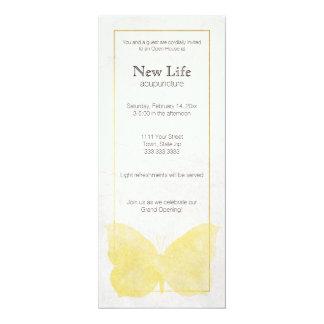 Tarjeta del estante de la gran inauguración para invitación 10,1 x 23,5 cm