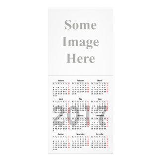 tarjeta del estante de la plantilla de 2017 lonas