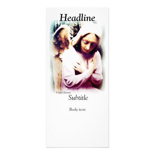 Tarjeta del estante del ángel tarjetas publicitarias a todo color