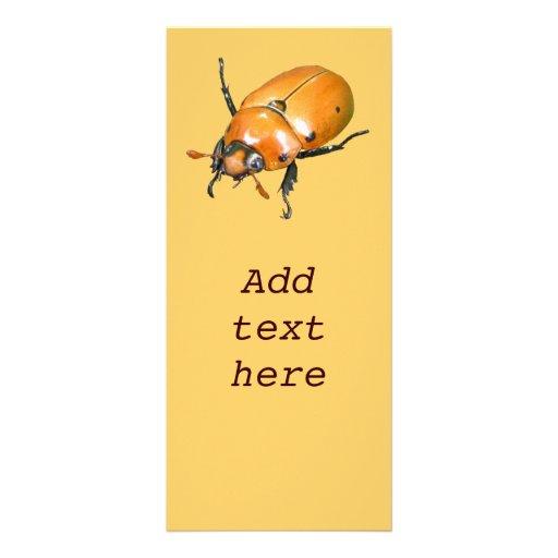 Tarjeta del estante del ~ del escarabajo de la vid tarjeta publicitaria personalizada