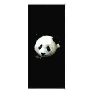 Tarjeta del estante del oso de panda tarjeta publicitaria personalizada