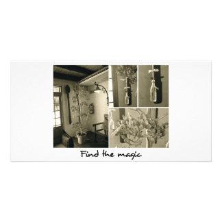 Tarjeta del estímulo tarjetas fotográficas