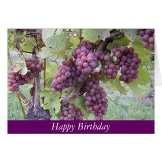 Tarjeta del feliz cumpleaños para celebrar los
