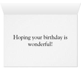 tarjeta del feliz cumpleaños para el gato de los