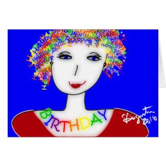 Tarjeta del feliz cumpleaños - Sharon Agustín