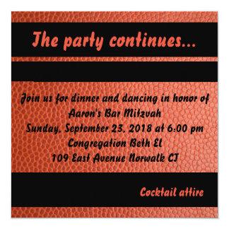 Tarjeta del fiesta para la colección de Mitzvah de
