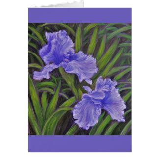 Tarjeta del iris