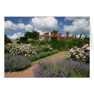Tarjeta del jardín de la colina de Borde