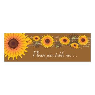 Tarjeta del lugar de la tabla del banquete de boda plantillas de tarjetas de visita