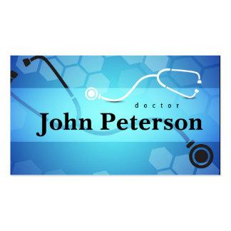 Tarjeta del médico de cabecera del terapeuta tarjetas de visita