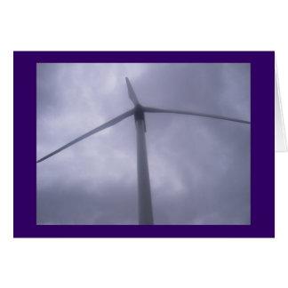 Tarjeta del molino de viento
