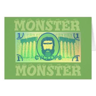 Tarjeta del monstruo de los Cyclops