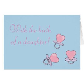 Tarjeta del nacimiento