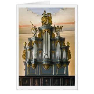 Tarjeta del órgano de Limburgo, Alemania