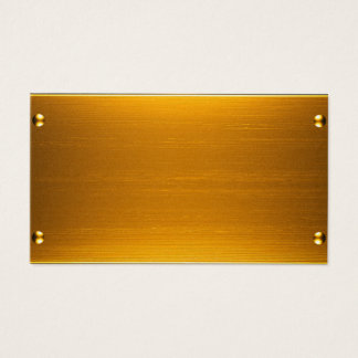 Tarjeta del oro