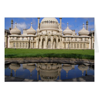 Tarjeta del pabellón real de Brighton