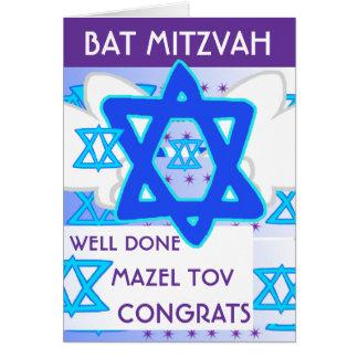 Tarjeta del PALO MITZVAH