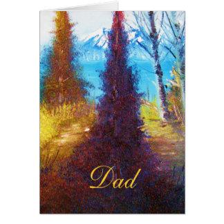 Tarjeta del papá