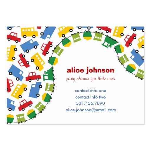 Tarjeta del perfil de la diversión del planificado plantillas de tarjetas de visita
