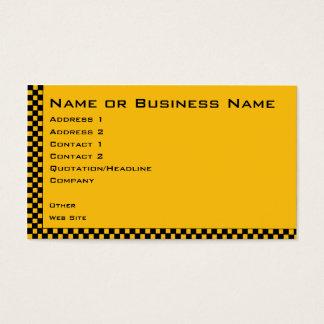 Tarjeta del perfil de la empresa de servicios del