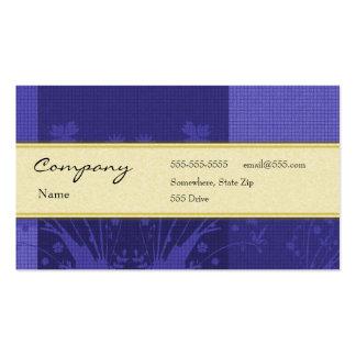 Tarjeta del perfil - decorativa tarjetas de negocios