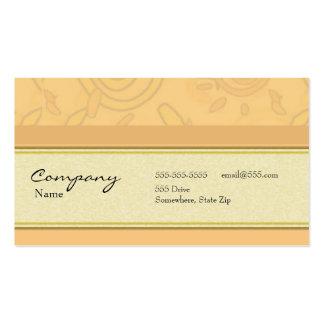 Tarjeta del perfil - decorativa tarjeta de visita