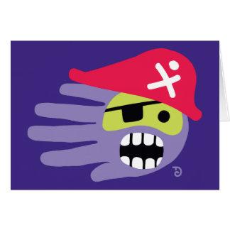 Tarjeta del pirata