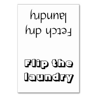 Tarjeta del recordatorio del lavadero del tirón/de