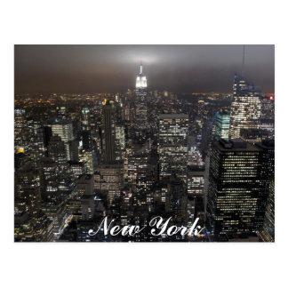 Tarjeta del recuerdo de Nueva York del paisaje urb Tarjetas Postales