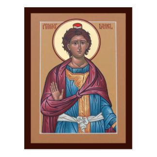 Tarjeta del rezo de Daniel del profeta